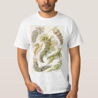 ヴィンテージのNudibranchia、エルンスト・ヘッケル著海スラグ Tシャツ
