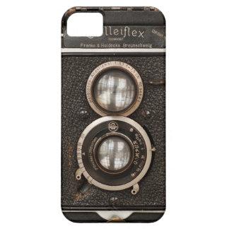 ヴィンテージのRolleiflex対レンズのカメラ iPhone SE/5/5s ケース
