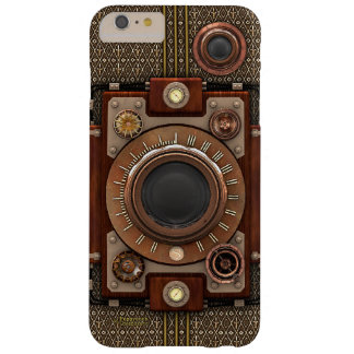 ヴィンテージのSteampunkのカメラ#1D (De Luxe!) Barely There iPhone 6 Plus ケース