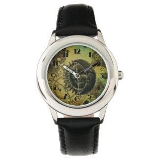 ヴィンテージのSteampunkの壁紙 腕時計