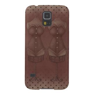 ヴィンテージのSteamPunkの服のSamsungの銀河系の関連 Galaxy S5 ケース