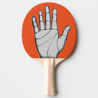 ヴィンテージのSteampunkの金属手 卓球ラケット