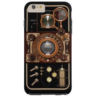 ヴィンテージのSteampunk TLRのカメラ#2B Tough iPhone 6 Plus ケース