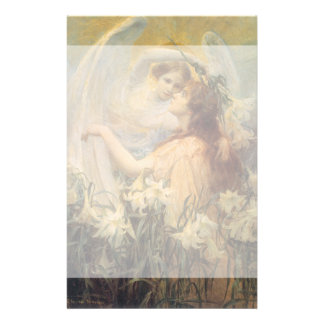 ヴィンテージのSwinstead著ビクトリアンな芸術の天使のメッセージ 便箋