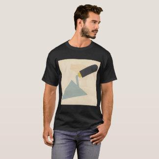 ヴィンテージのTシャツの古い学校プラスター建築 Tシャツ