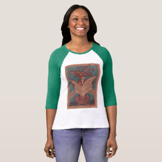 ヴィンテージのTシャツの緑のウサギのジョンマーティンの本 Tシャツ
