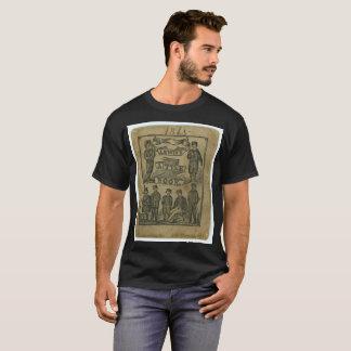 ヴィンテージのTシャツルイス1865少し本の古い学校 Tシャツ