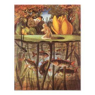 ヴィンテージのThumbelinaのおとぎ話、エレノアVere Boyle カード