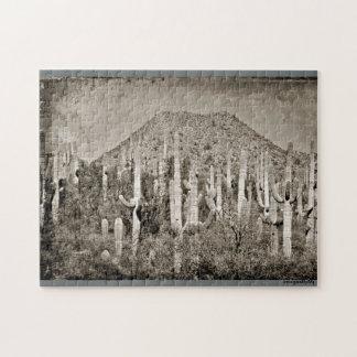 ヴィンテージのTonto山のパズル ジグソーパズル