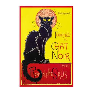 ヴィンテージのTourneeの雑談のNoir猫 アクリルウォールアート