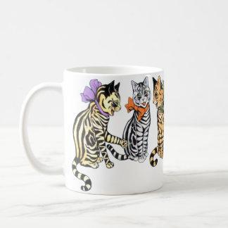 ヴィンテージのWain猫の雑談のギフトのマグ コーヒーマグカップ