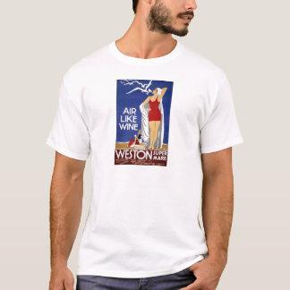 ヴィンテージのWeston旅行ポスター Tシャツ