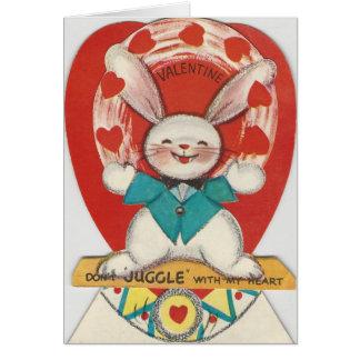 ヴィンテージはバニーのバレンタインをごまかします カード