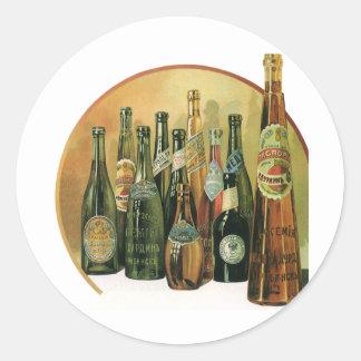 ヴィンテージはビール瓶、アルコール、飲料を輸入しました ラウンドシール