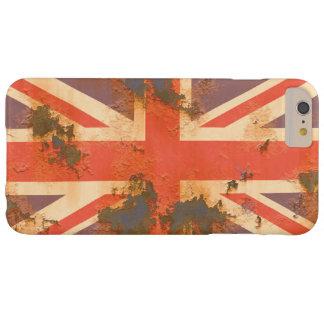 ヴィンテージは旗イギリス錆つきました BARELY THERE iPhone 6 PLUS ケース