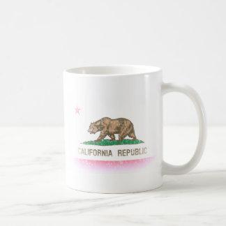 ヴィンテージは旗カリフォルニア衰退します コーヒーマグカップ