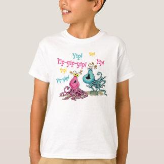 ヴィンテージは甲高い声で話甲高い声で話します Tシャツ