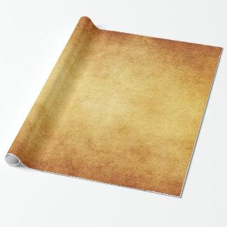 ヴィンテージは硫酸紙のテンプレートのブランクを老化させました ラッピングペーパー