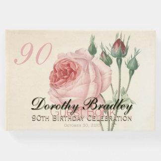 ヴィンテージは第90誕生祝いの来客名簿上がりました ゲストブック