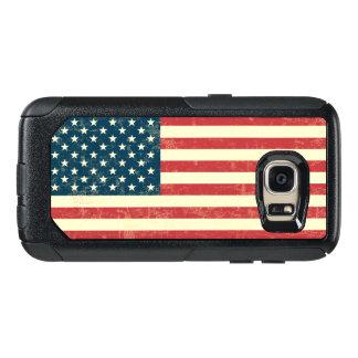 ヴィンテージは米国旗米国衰退しました オッターボックスSamsung GALAXY S7ケース