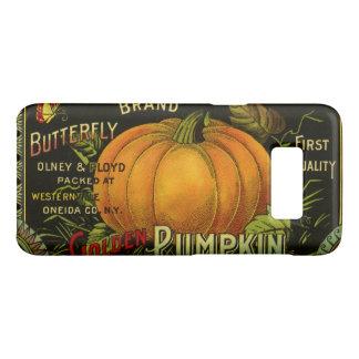 ヴィンテージは芸術、蝶カボチャ野菜を分類できます Case-Mate SAMSUNG GALAXY S8ケース