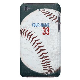 ヴィンテージは野球の球の箱のスタイルを作りました Case-Mate iPod TOUCH ケース