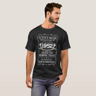 ヴィンテージは1952年版-第65誕生日プレゼントを限りました Tシャツ