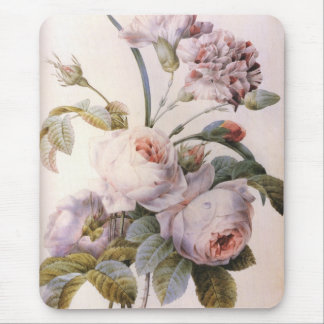 ヴィンテージは、カーネーションの花束上がりました マウスパッド