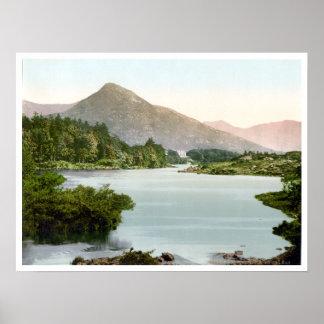 ヴィンテージアイルランド、Ballinahinch Co.ゴールウェイc1895 ポスター