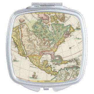 ヴィンテージアメリカの地図- Borealis 1699年