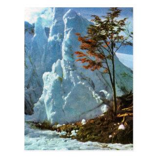 ヴィンテージアルゼンチンの氷、Cerro、ブエノスアイレスの海 ポストカード