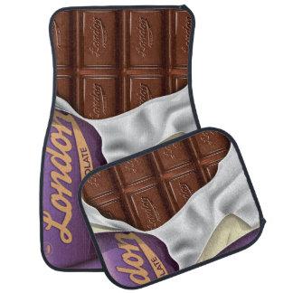 ヴィンテージイギリスチョコレート広告 カーマット