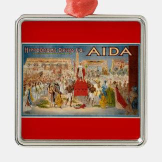 ヴィンテージオペラ- Aida メタルオーナメント
