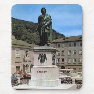 ヴィンテージオーストリアのモーツァルトの記念物 マウスパッド