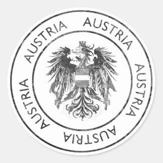 ヴィンテージオーストリア ラウンドシール