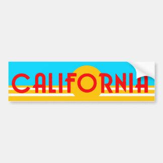 ヴィンテージカリフォルニアロゴのバンパーステッカー バンパーステッカー