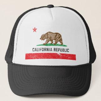 ヴィンテージカリフォルニア旗 キャップ