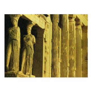 ヴィンテージギリシャ、アテネのアクロポリス、パルテノン ポストカード