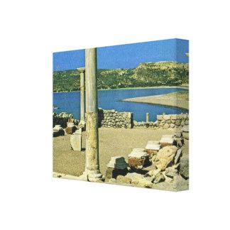 ヴィンテージギリシャ、CosのDodecaneseの島 キャンバスプリント