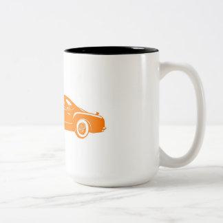 ヴィンテージクライスラ ツートーンマグカップ