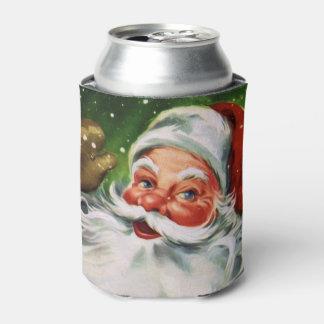 ヴィンテージサンタは1つに直面します 缶クーラー