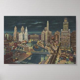 ヴィンテージシカゴ1952年 ポスター
