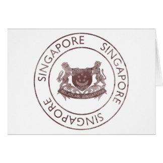 ヴィンテージシンガポール カード