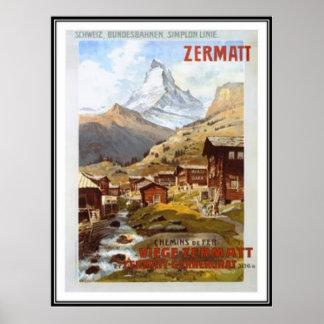 ヴィンテージスイス連邦共和国- ポスター