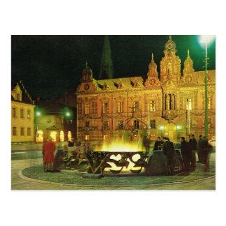 ヴィンテージスウェーデン、マルメ、市役所 ポストカード