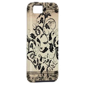 ヴィンテージスクロール穹窖のVibeのiPhone 5の場合 iPhone SE/5/5s ケース