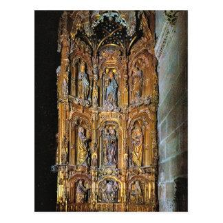 ヴィンテージスペイン、ブルゴスのカテドラル、セントアンナの祭壇 ポストカード