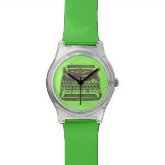 ヴィンテージタイプライターの腕時計 腕時計