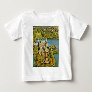 ヴィンテージデンマークのFrederiksburgの城 ベビーTシャツ
