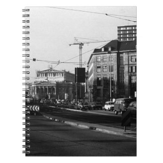 ヴィンテージドイツブランクフルトオペラ1970年 ノートブック